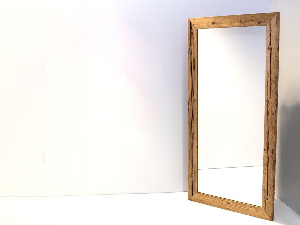 spiegel im altholzrahmen seco sign gmbh. Black Bedroom Furniture Sets. Home Design Ideas